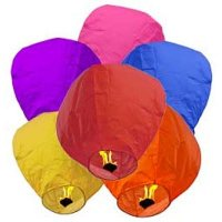 Chinese Sky Lanterns Case