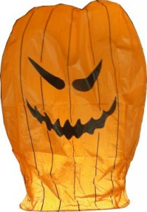 1pc Pumpkin Sky Lantern