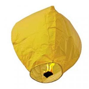1pc Yellow Sky Lantern