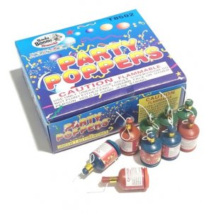 Champagne Party Poppers 72 Pack