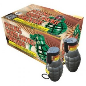 Pull Ring Smoke Grenade - Pack of 12