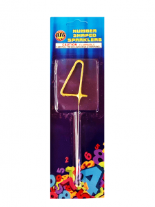 Number Shaped Sparkler 4
