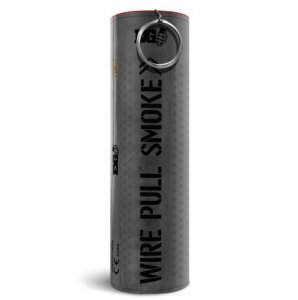 WP40 Wire Pull Enola Gaye Black Smoke Grenade