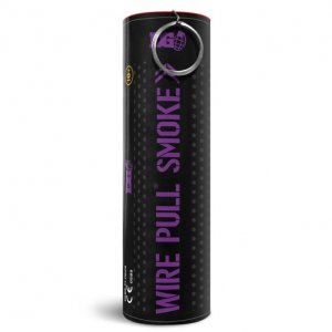 WP40 Wire Pull Enola Gaye Purple Smoke Grenade