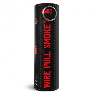 WP40 Wire Pull Enola Gaye Red Smoke Grenade