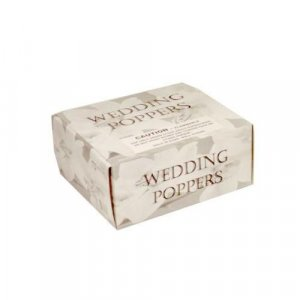 Wedding Party Poppers 72 Piece Display Box